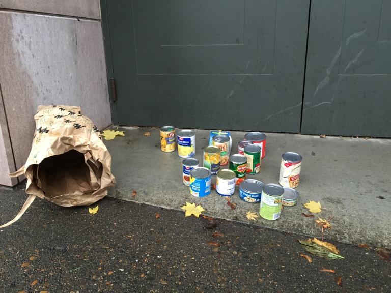 Cornucopia of canned goods