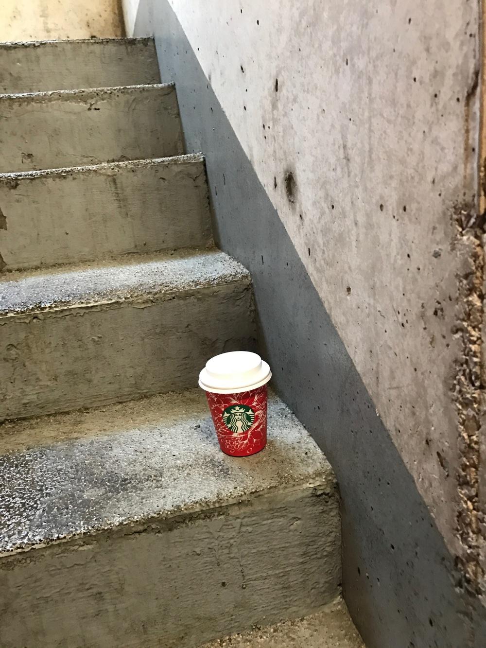 Stairway coffee