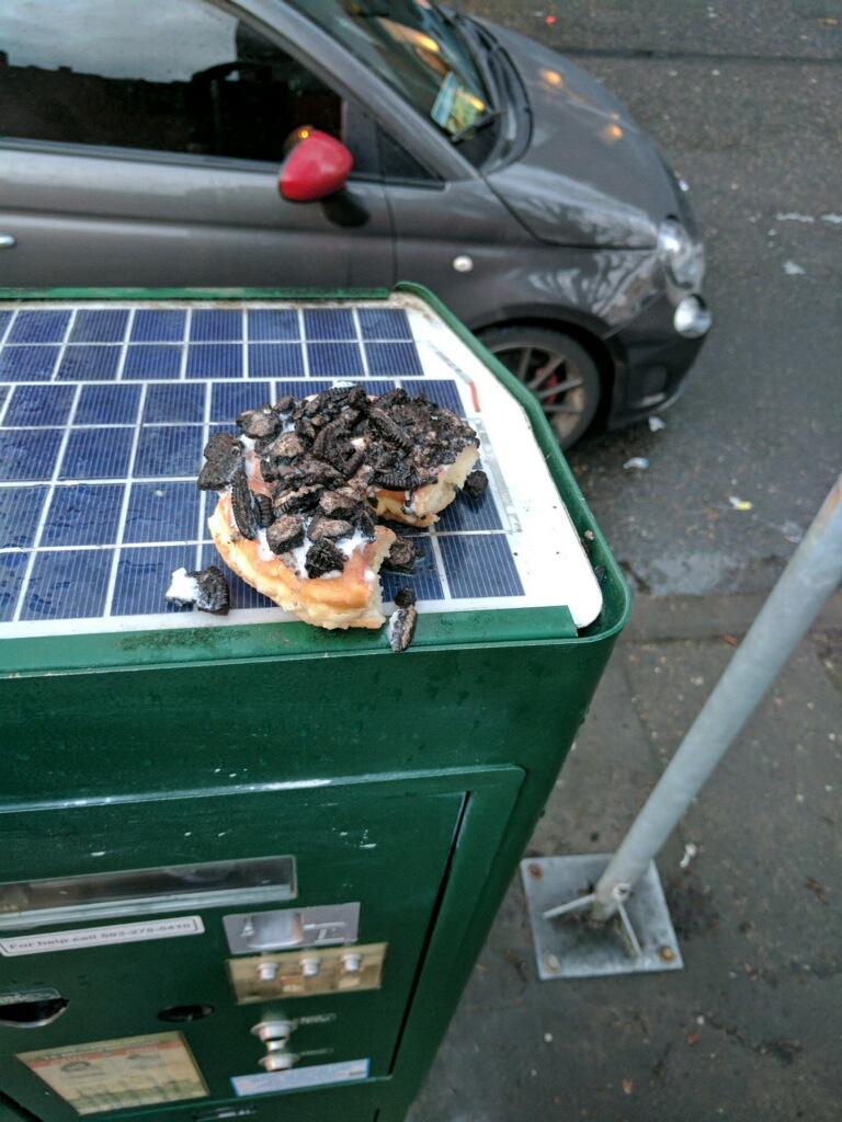 Parking doughnut